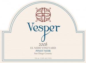 Vesper Pinot Noir