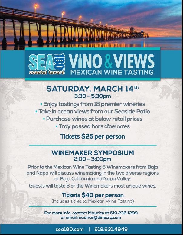 Sea180 Mexi wine