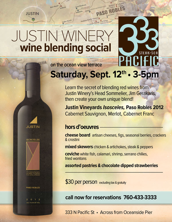 Justin Winery Blending