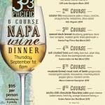 333 Pacific Napa Wine Dinner
