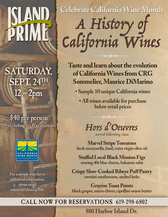 California wine history