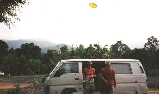 Maurice in Australia 2001