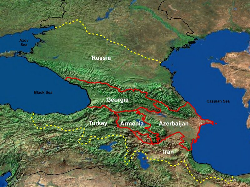 caucasus Mtn