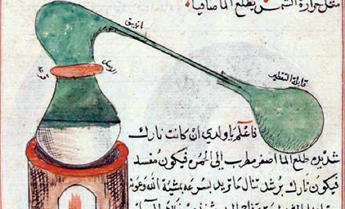 muslim distillation
