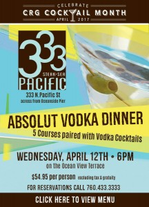 Absolut Vodka Dinner