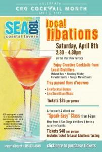 Sea 820 Local libations