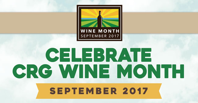 CRG wine month