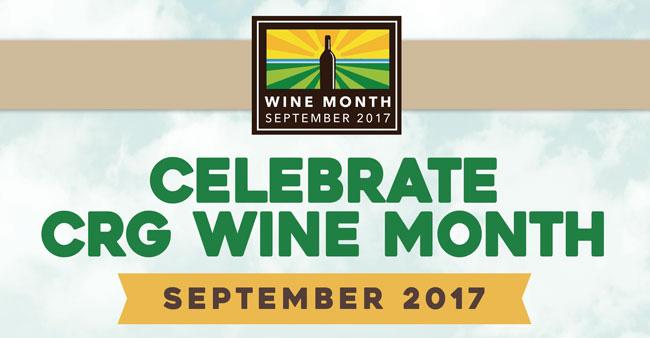 CRG wine month